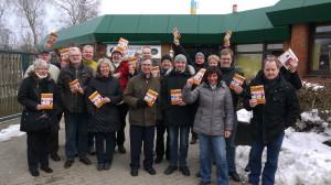 Die CDU Henstedt-Ulzburg in Aktion - Gemeinsam im Team