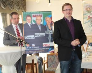 Ole Plambeck stellt sich und seine Ziele bei der SeniorenUnion Henstedt-Ulzburg vor