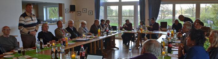 Bürgermeister Karl Menken berichtet über die aktuelle Situation in Heidmoor