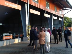 Der KPV-Kreisverband diskutiert und bestaunt den neuen Recyclinghof
