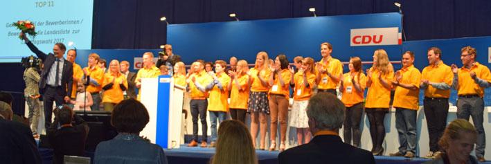 Große Freude bei Ingbert Liebing über das tolle Wahlergebnis